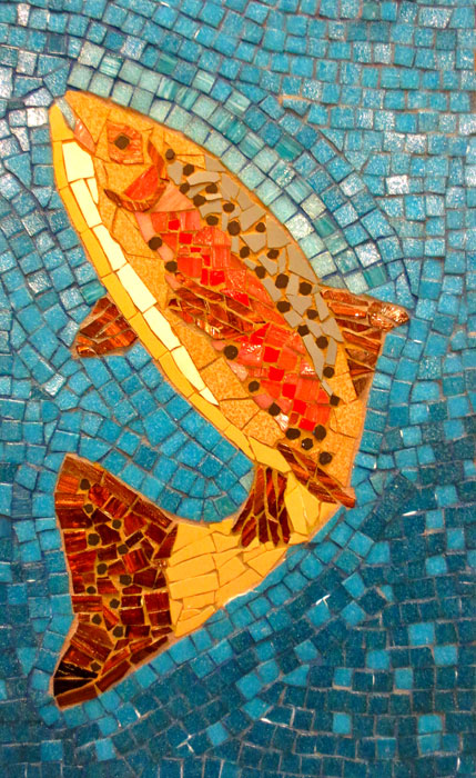 1000 Images About Mosaic Fish On Pinterest Starfish